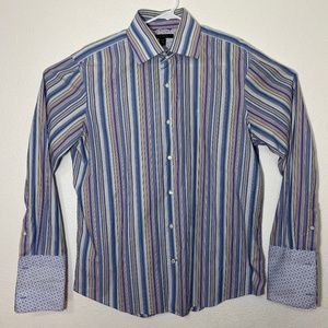 Banana Republic Mens Large 16-16 1/2 Button Up